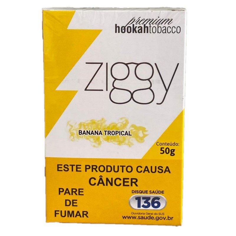 ZIGGY - Banana Tropical 50g - (P/NARGUILE)