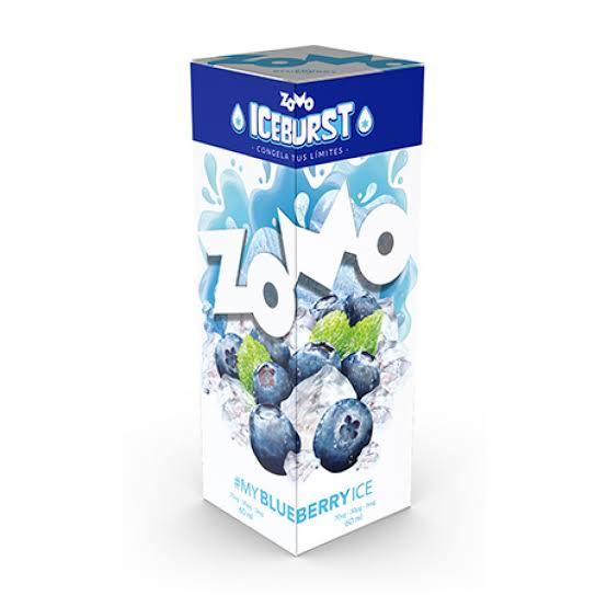ZOMO - Blueberry ICE BURST 60ml