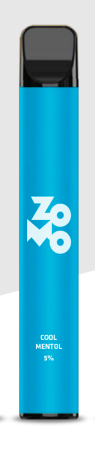 ZOMO Descartável - Cool Menthol 650 puffs 5% *LANÇAMENTO*