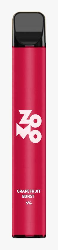 ZOMO Descartável - Grapefruit Burst puffs 5% *LANÇAMENTO*