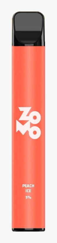 ZOMO Descartável - Peach Ice 650 puffs 5% *LANÇAMENTO*