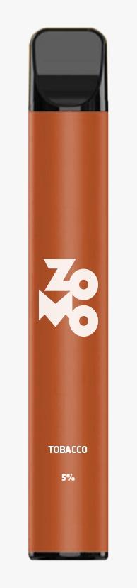 ZOMO Descartável - Tobacco 650 puffs 5% *LANÇAMENTO*