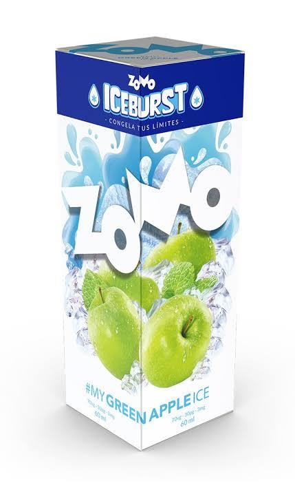 ZOMO - Green Apple ICE BURST 60ml