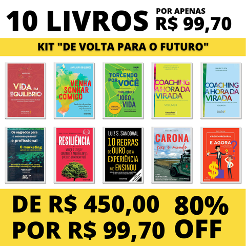 10 Livros - Kit