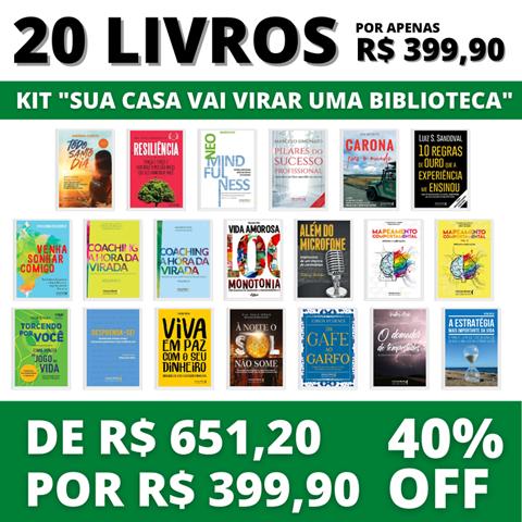 20 livros - Kit
