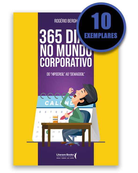 365 DIAS NO MUNDO CORPORATIVO (KIT ESPECIAL COM 10 LIVROS - PROMOÇÃO 10% DE DESCONTO)