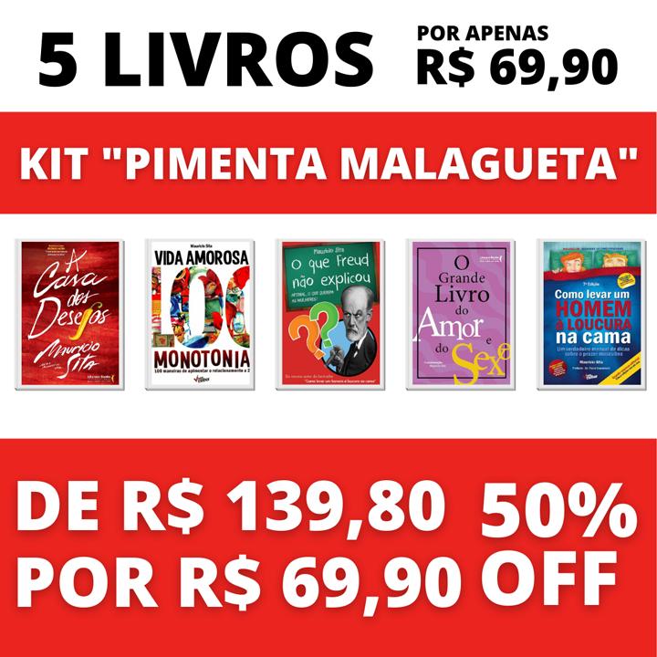 4 Livros + 1 Audiobook - Kit