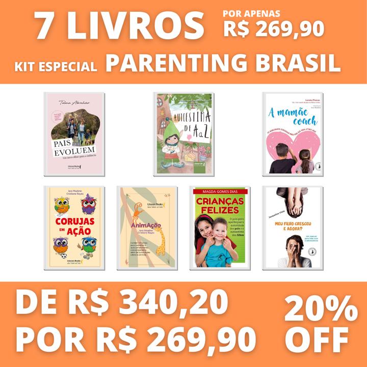 7 livros - Kit