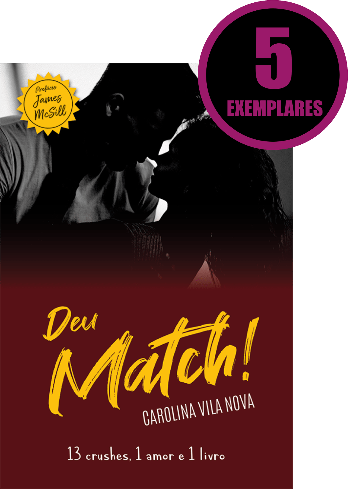 Deu Match! (KIT ESPECIAL COM 5 LIVROS)