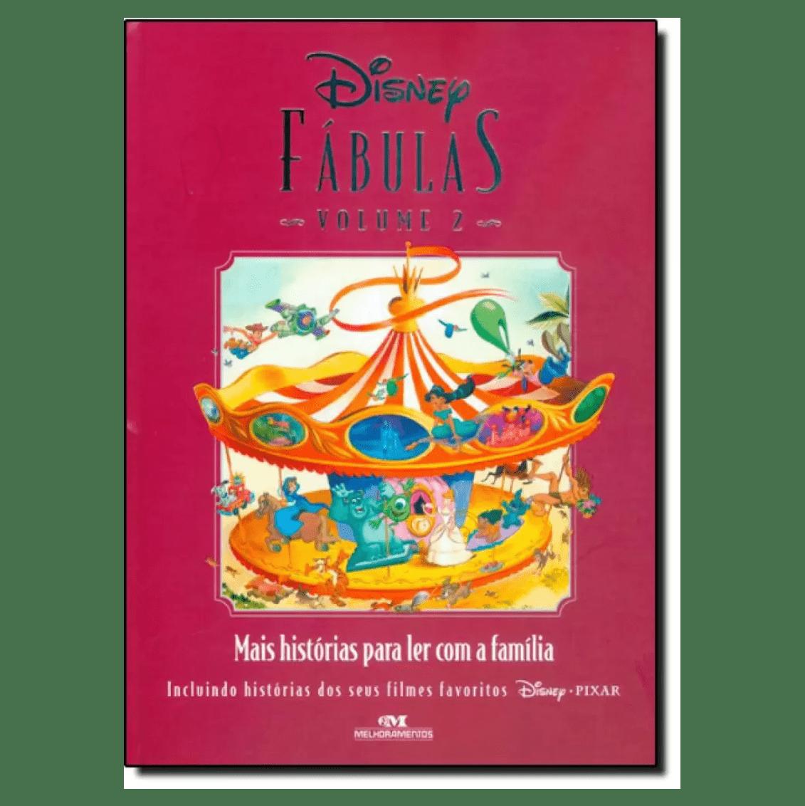 Disney Fábulas: Histórias Para Ler Com a Família - Vol.2