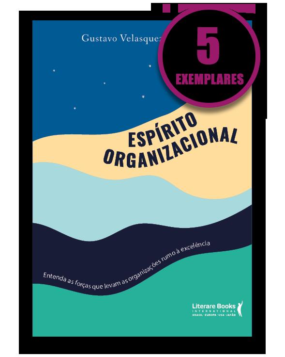 ESPÍRITO ORGANIZACIONAL (KIT ESPECIAL COM 5 LIVROS)