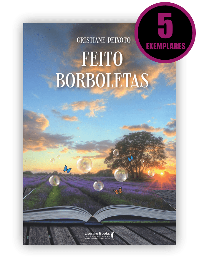 FEITO BORBOLETAS (KIT ESPECIAL DE 5 LIVROS)