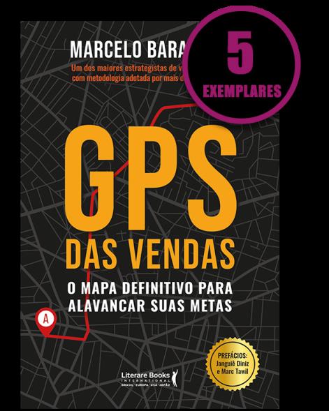 GPS DE VENDAS (KIT ESPECIAL DE 5 LIVROS)