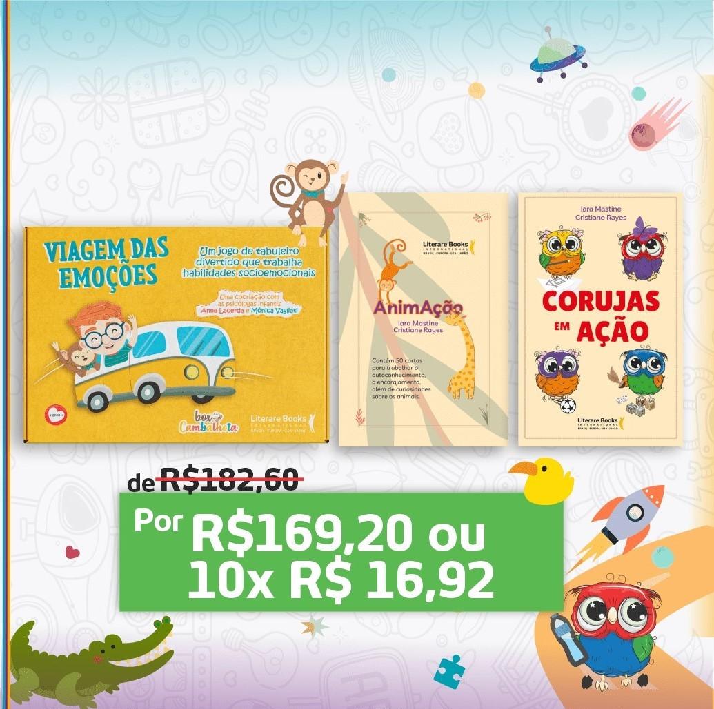Kit 3 jogos desenvolvimento infantil