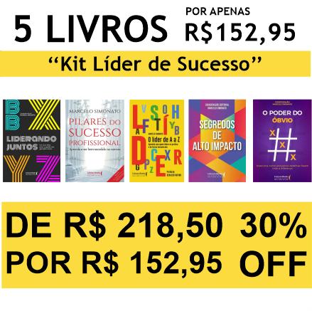 Kit Líder de Sucesso - 5 Livros