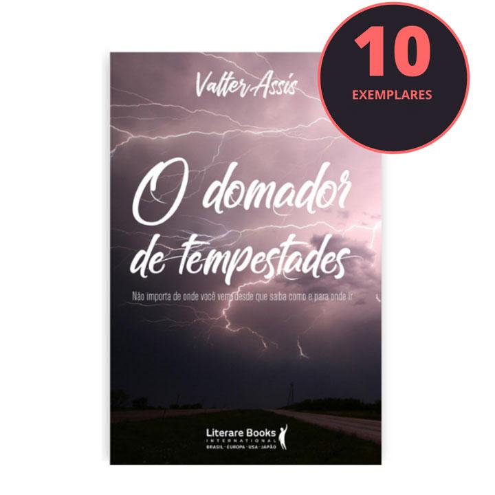 O domador de tempestades (kit especial com 10 livros)