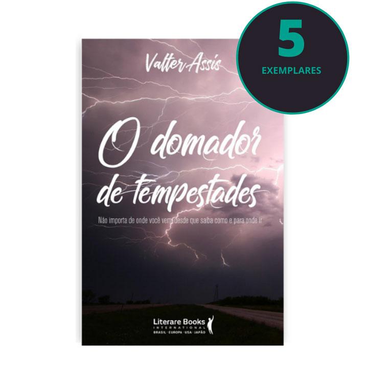 O domador de tempestades (kit especial com 5 livros)