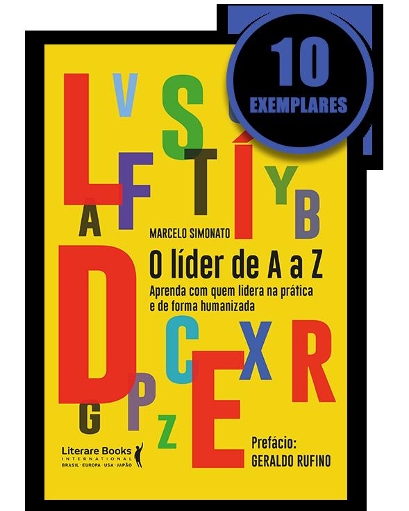 O líder de A a Z (kit especial com 10 livros)