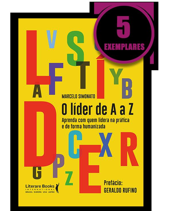 O líder de A a Z (kit especial com 5 livros)