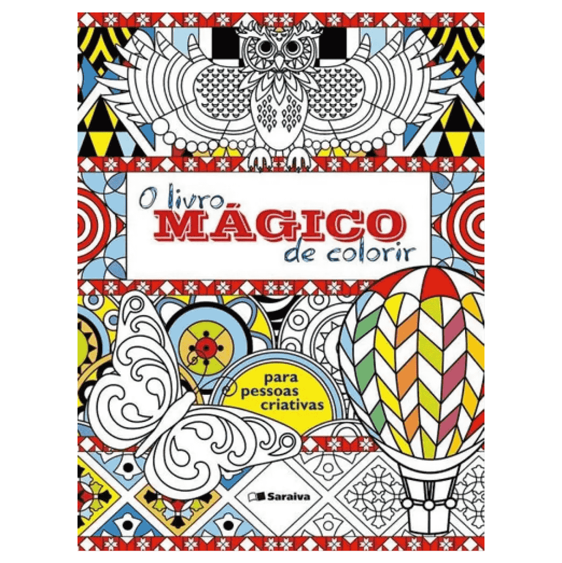O Livro Magico de Colorir
