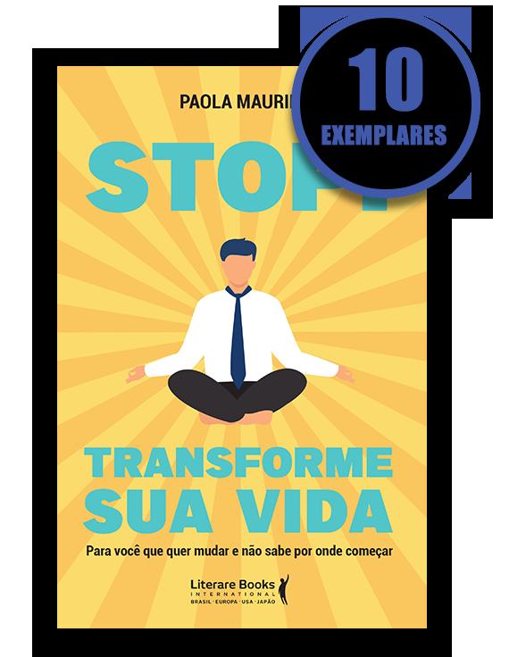 Stop! Transforme sua vida (kit especial com 10 livros)