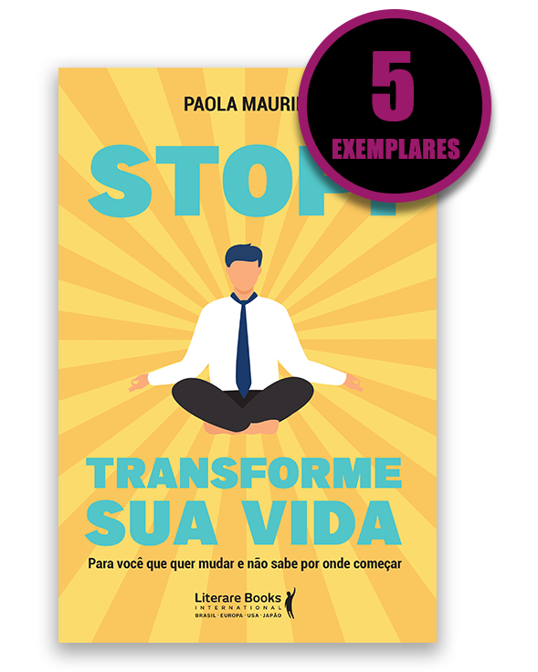 Stop! Transforme sua vida (kit especial com 5 livros)