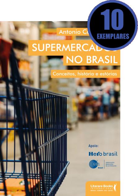 SUPERMERCADOS NO BRASIL (KIT ESPECIAL COM 10 LIVROS)