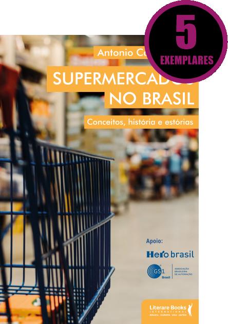 SUPERMERCADOS NO BRASIL (KIT ESPECIAL COM 5 LIVROS)