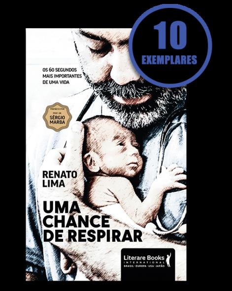 Uma chance de respirar (kit especial de 10 livros)