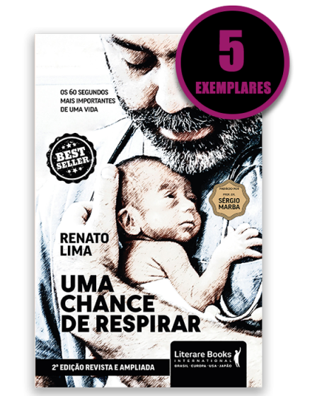 Uma chance de respirar (kit especial de 5 livros)