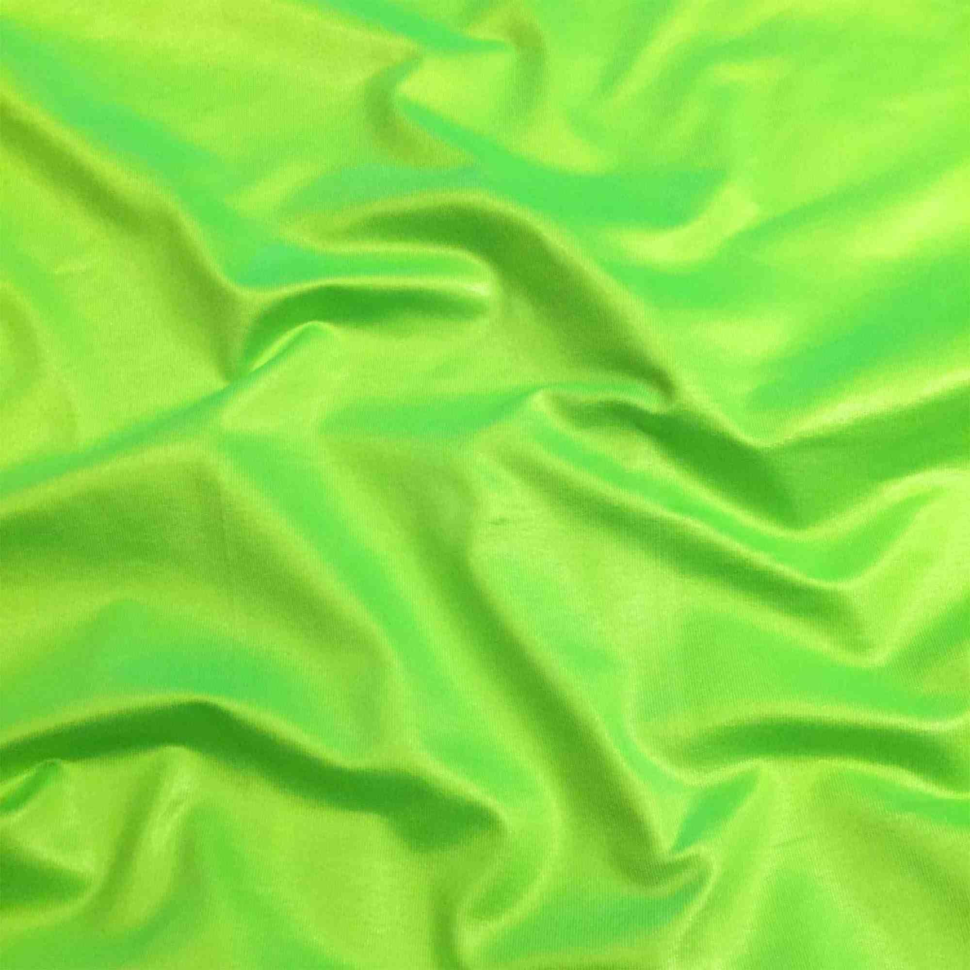 Cirrê Poliéster Verde Neon