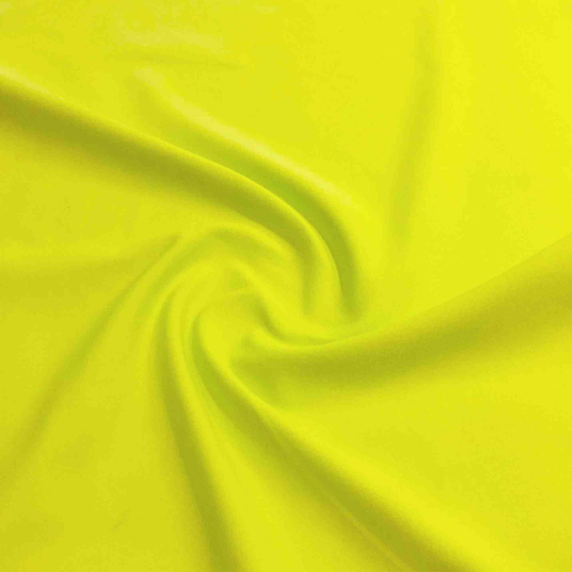 Meryl Liso Amarelo Neon