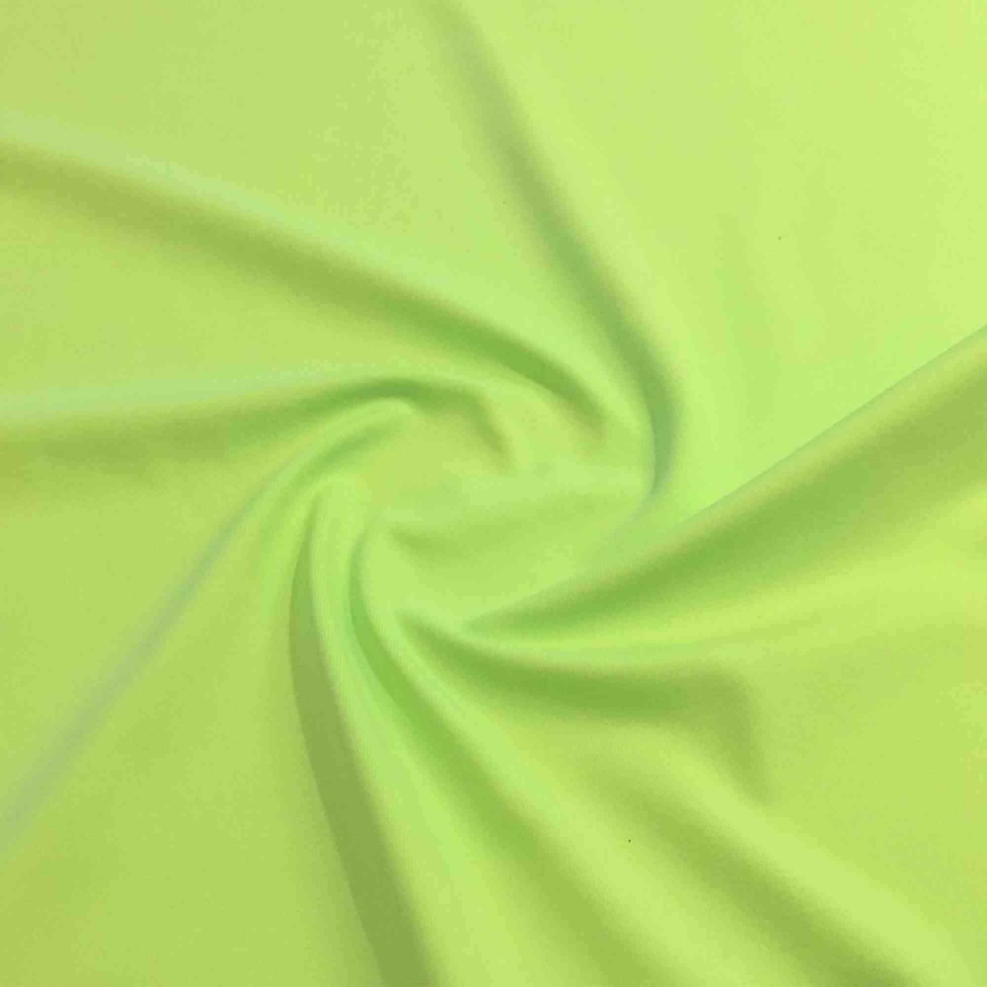 Meryl Liso Verde Ácido