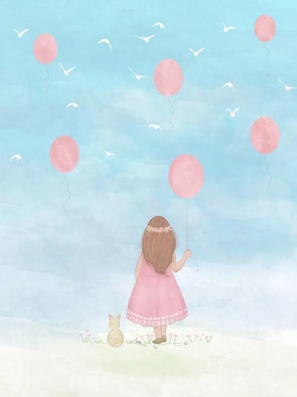 A garota e o balão por Tatiana Gomes Urban Arts  (COMPRE SOMENTE PELO WHATSAPP)