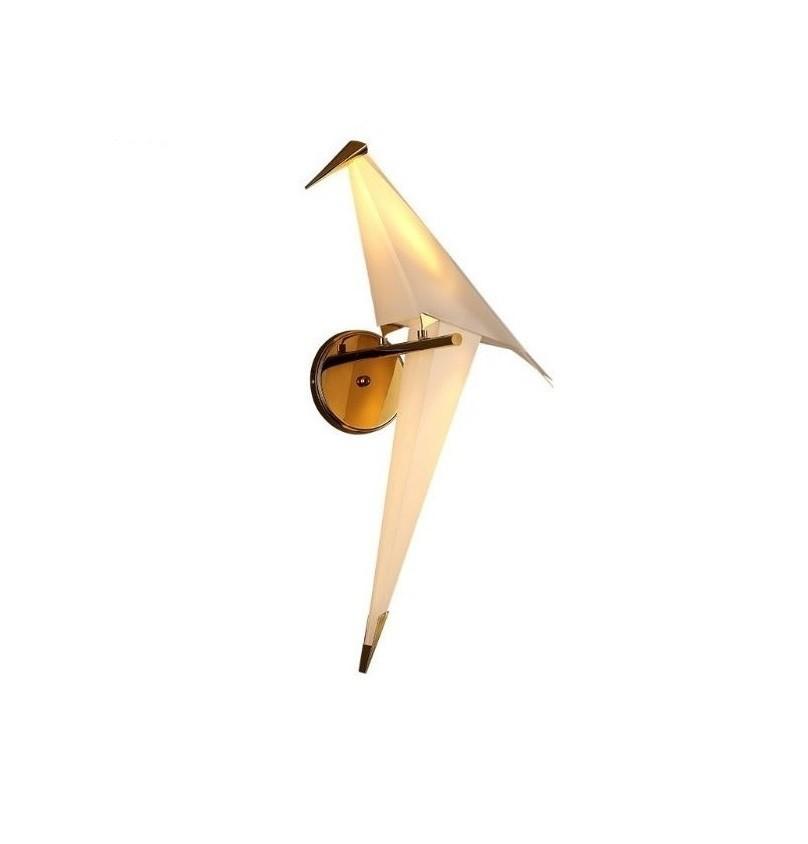 Arandela Perch Bird Passaro Origami Rose Gold Led 6w ST1760 - 4Lamp