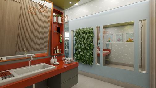 Banheiro Adaptado do Menino – O Pequeno Príncipe - Leonardo Vieira