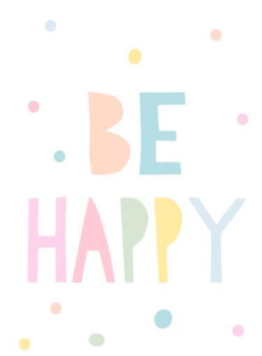 Be Happy Candy por Juliana Lima - Urban Arts (COMPRE SOMENTE PELO WHATSAPP)