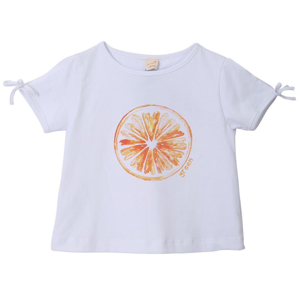 Camiseta Salada de Fruta - Estampa: Laranjinha - Green (COMPRE SOMENTE PELO WHATSAPP)