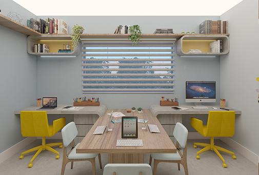 Home Office Integrado - Carol Gama