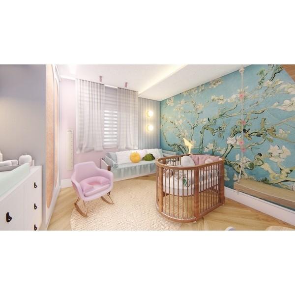 Quarto do Bebê Menina - Martins Arquitetura