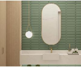 Tijolinho Verde Invertido 7 x24cm - MOEMA (ESTE VALOR SE REFERE A CAIXA)