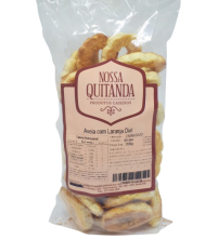 Rosquinha De Aveia Com Laranja Diet 200G Nossa Quitanda