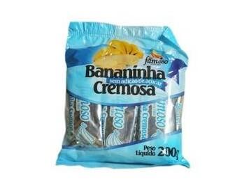 Bananinha Diet Pacote 200G Famoso