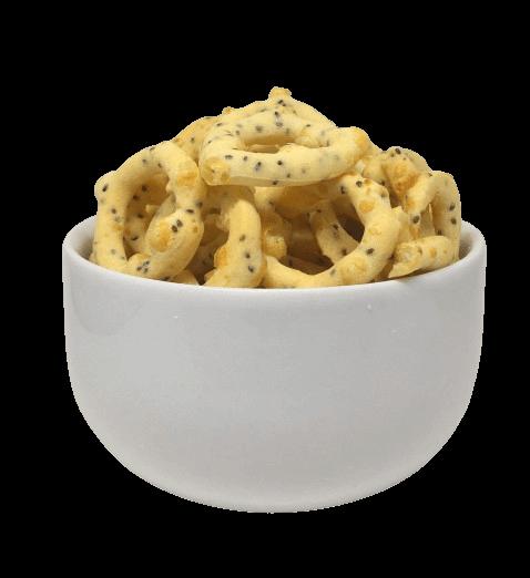 Biscoito De Parmesão Com Chia 100g