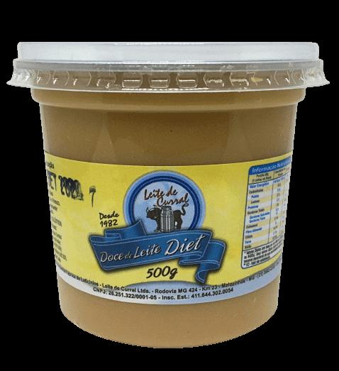 Doce De Leite Pastoso Diet 500G Leite De Curral
