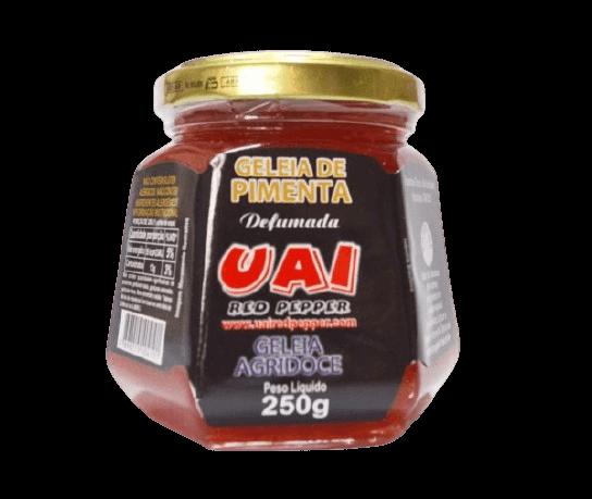 Geléia De Pimenta Defumada 250G Uai Red Pepper
