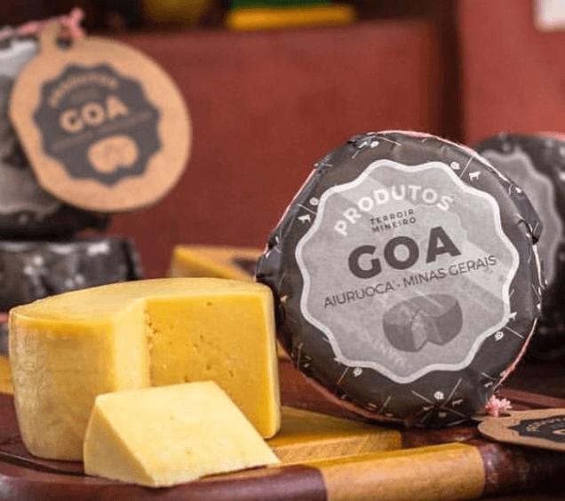 Queijo Minas Artesanal Goa 500G - Medalha de Bronze no V Prêmio Queijo Brasil