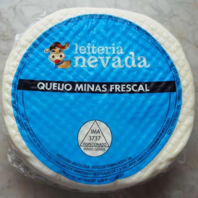 Queijo Minas Frescal Nevada  (Entregue somente em BH e Região)
