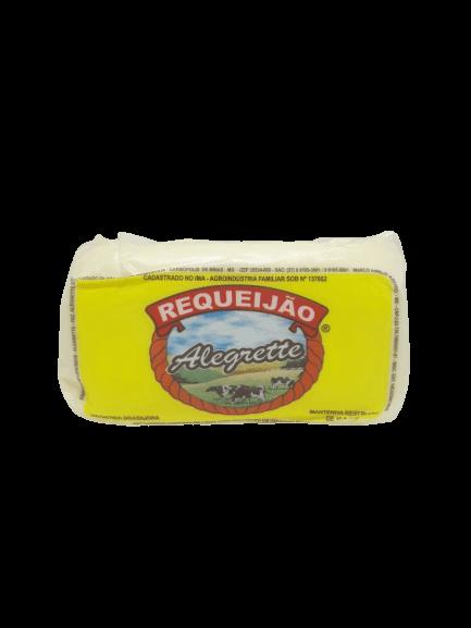 Requeijão Com Raspa Barra Alegrette Peça (Entregue somente em BH e Região)