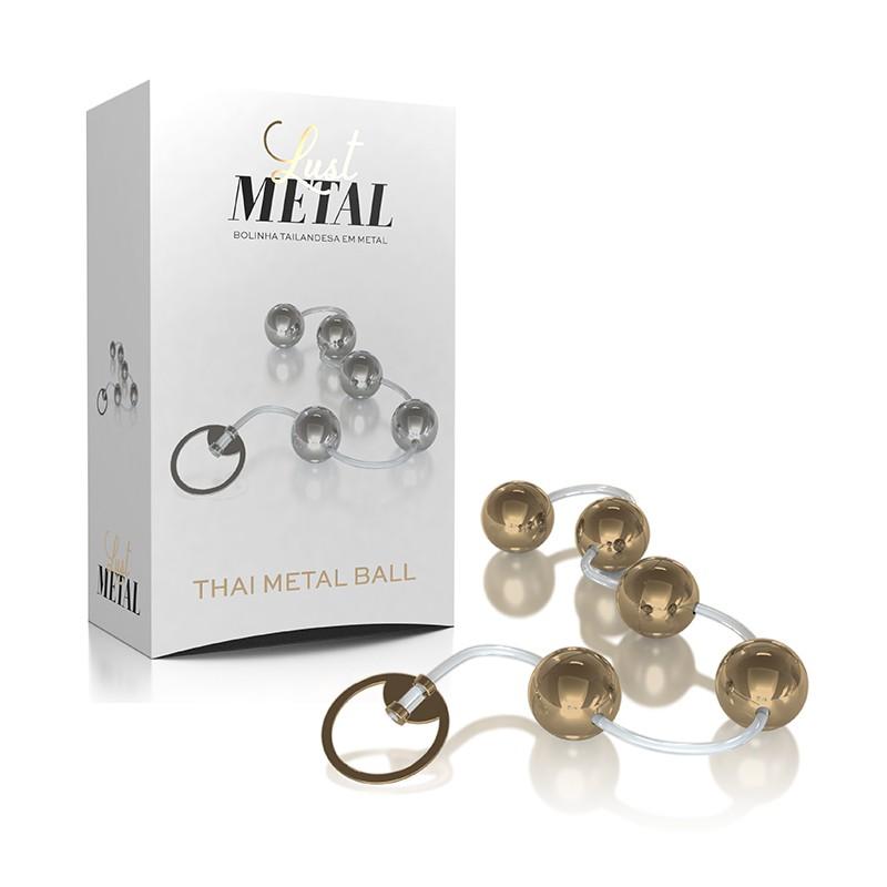 Bolinha Tailandesa  em Metal